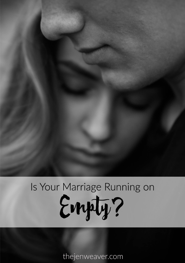 Is Your Marriage Running on Empty?