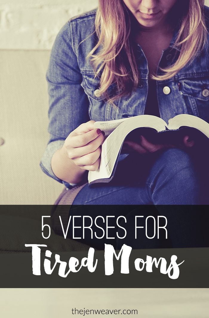 5 Verses for Tired Moms