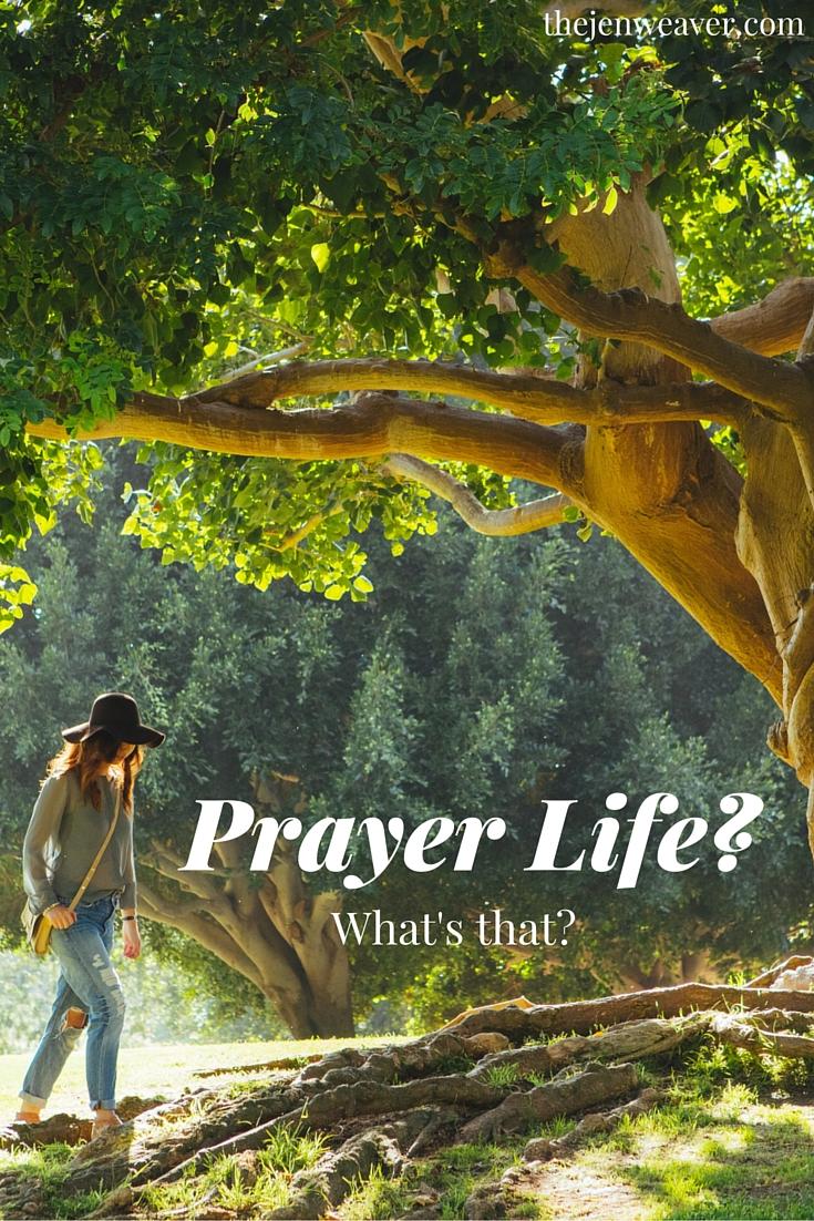 prayer life pin